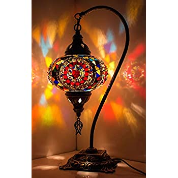 Demmex 2019 Turkish Moroccan Mosaic Table Lamp With Us