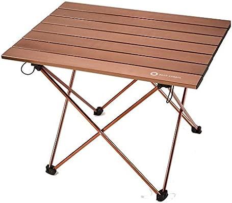 Equipo de barbacoa para acampar al aire libre mesa portátil ...