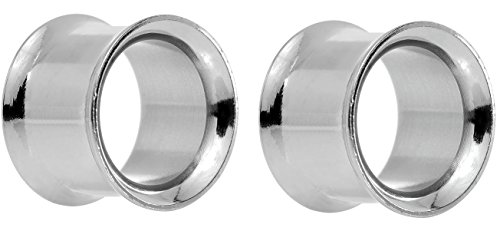 stainless steel Double flared eyelets miror polished size 5mm