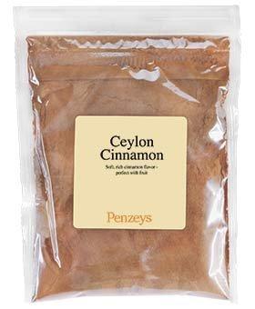 Ceylon Cinnamon Ground By Penzeys Spices 2.4 oz 3/4 cup bag