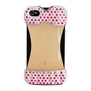 LCJ Sexy Bikini Pattern Round Dots Back Case for iPhone 4/4S by icecream design