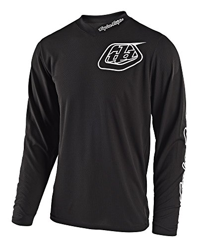 Troy Lee Designs GP Mono Youth Off-Road Motorcycle Jersey - Black / Small