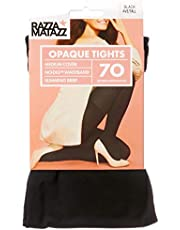 Razzamatazz Women's Pantyhose 70 Denier Slim Matte Opaque Tights