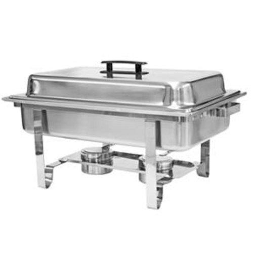 8 QT FULL SIZE WELDED CHAFER-SET/CTN