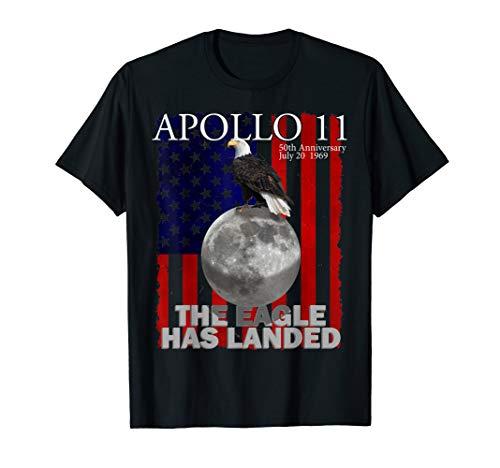 Apollo 11 50th Anniversary Gift First Moon Landing Souvenir  T-Shirt