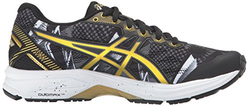 ASICS Womens Rich Black Gold Gold GT Gr 1000 Shoe Ribbon Running 5 aFawRxr1