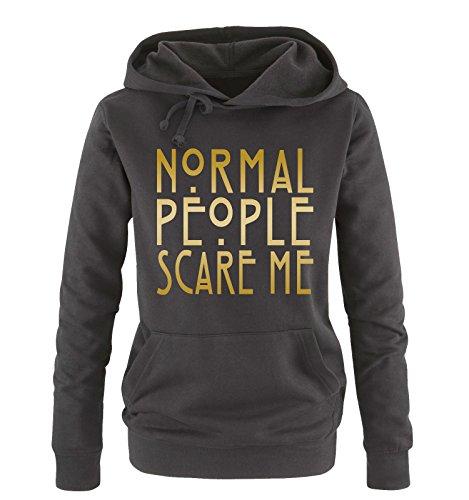 colori sweater Comedy Donna Shirts Normal oro vari nero XL Me taglia People Hoodie cappuccio S Scare 8rO8AwqU
