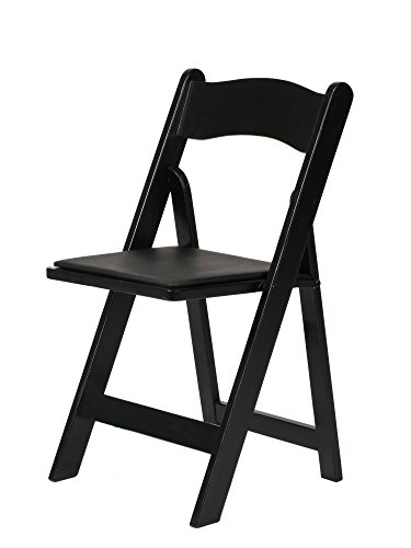 Commercial Seating (Commercial Seating Products A-101-BK American Classic Wood Folding Chair, Black)
