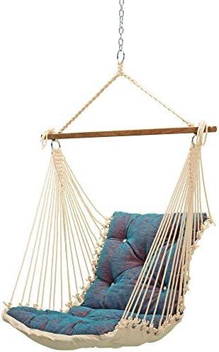 Hatteras Hammocks Tufted Sunbrella Single Swing – Platform Horizon
