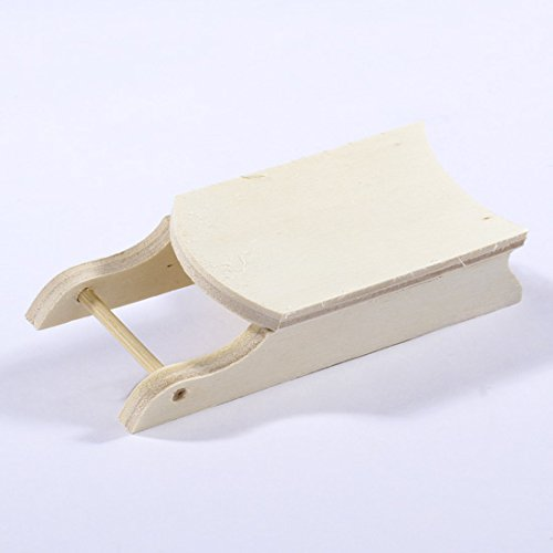 Factory Direct Craft Group of 12 Small Unfinished Wood Sleds for All Your Holiday Crafts and Displays