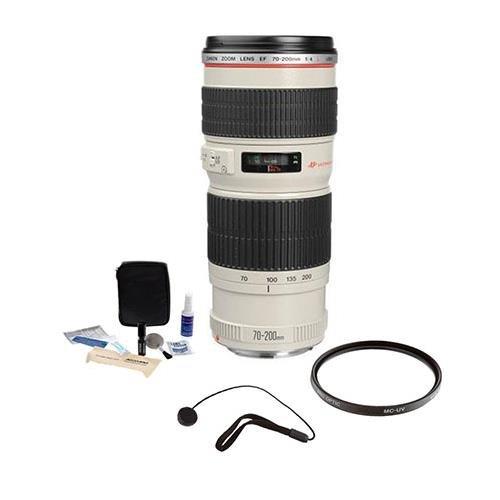 Canon EF 70-200mm f/4L USM AF Lens Kit, USA with Tiffen 67mm