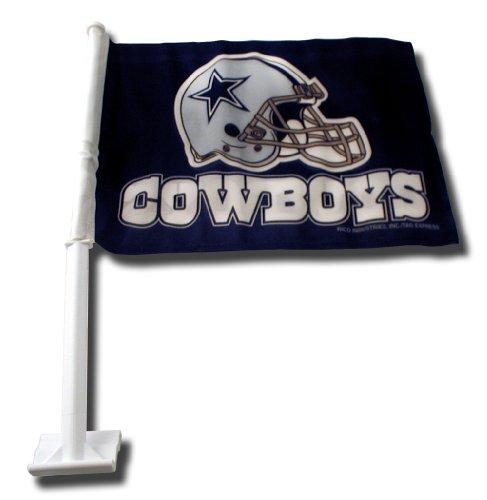 NFL Dallas Cowboys Car Flag (Dallas Cowboys Football Car Flag)