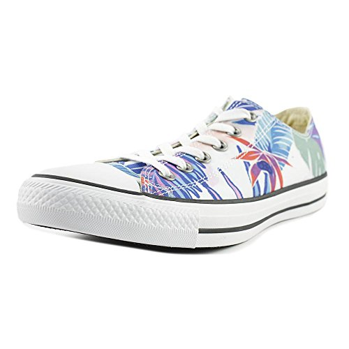 Taylor Printed - Converse Mens Chuck Taylor All Stars Tropical Print OX Low Top Multi Canvas Trainers 8 US