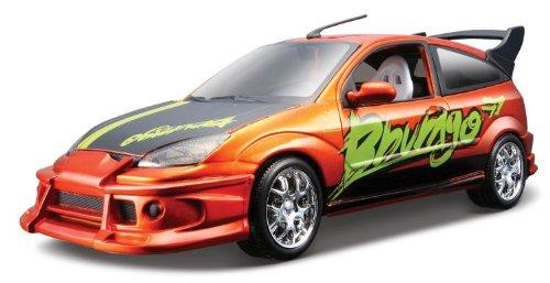 Bburago 2011 Str. Tuner 1:24 Scale Metallic Orange Ford Focus (Ford Focus Model compare prices)