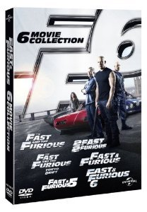 The Complete Fast And Furious DVD Movies Box Set Collection 1 2 3 Tokyo Drift