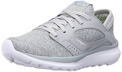 Saucony Women's Kineta Relay Running Shoe, Grey Lavender, 8 Medium US (Type Womens Saucony)