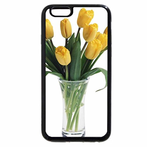 iPhone 6S / iPhone 6 Case (Black) Lovely yellow tulips