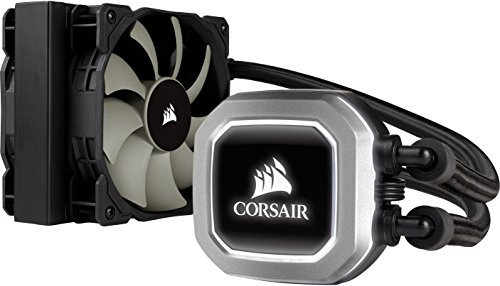 CORSAIR Hydro Series H75 AIO Liquid CPU Cooler, 120mm Radiator, Dual 120mm SP Series PWM Fans