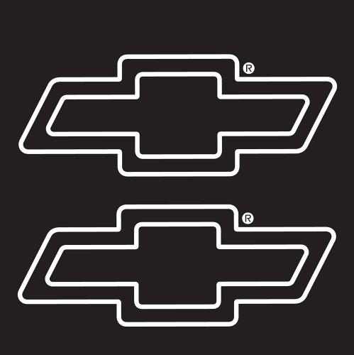 Chroma 3621 Chevy Die Cutz-White Decal
