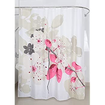 Amazon Com Maytex Cherrywood Fabric Shower Curtain X Inch