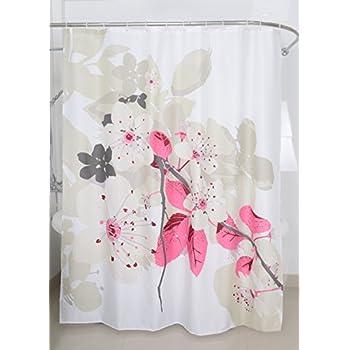 Amazon.com: Magic Vida Decorative Lush Flowers Peach Tree Shower ...