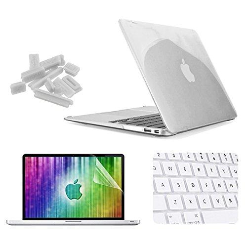 Enkay Kristall Shell-Tastatur-Abdeckung Schirm-Film-staubdichte Stecker-Set fŸr MacBook Air 13,3 , Apple Zubehšr hellblau