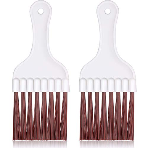 Air Conditioner Condenser Fin Cleaning Brush, Refrigerator Coil Cleaning Whisk Brush (2 Pieces)