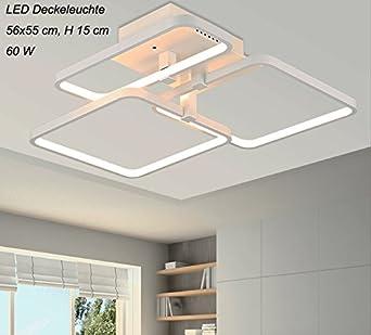LED Deckenleuchte XW007-3 mit Fernbedienung Lichtfarbe-Helligkeit einstellbar A+