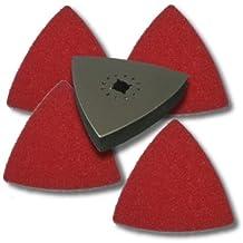 KENT 5 pcs Oscillating Scouring Buffer Kit, Fits Fein Multimaster, Bosch, Chicago, Secco
