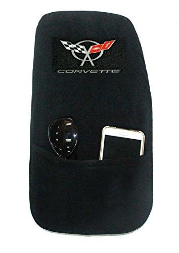 (Seat Armour KACORC5B Custom Fit 'Konsole Armour' Center Console Cover for Chevrolet Corvette C5 Models (Black))
