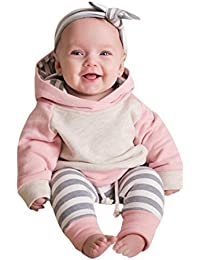 Toddler Clothes Outfits, Baby Boy Girl Hoodie Tops+Pants...