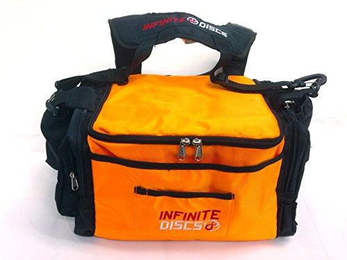 4362b3338265 Infinite Large Disc Golf Bag with Straps (Orange) - Buy Online in ...