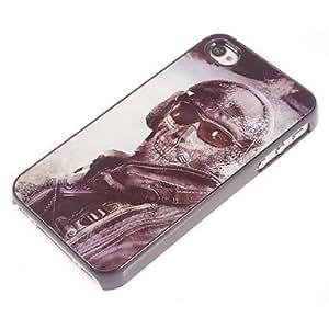 FJM Shootfighters Design Aluminum Hard Case for iPhone 5/5S