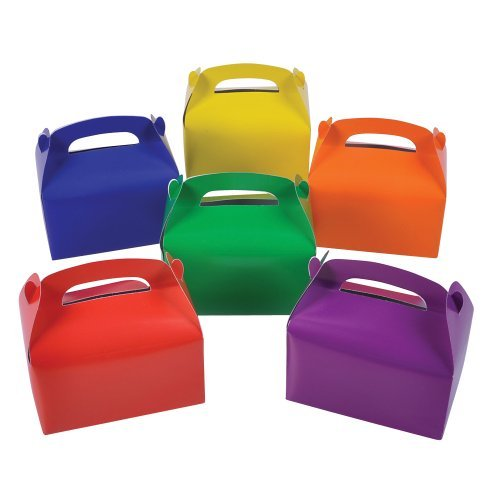 Colorful Treat Boxes (pack of 12)