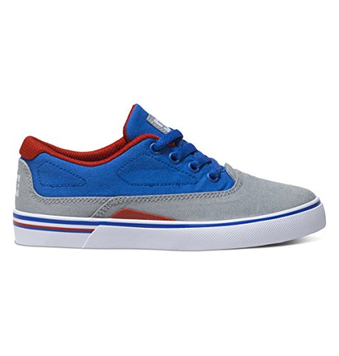 Niños Patines Chuh DC Sultan Skate Shoes Boys Azul