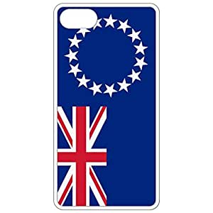 Cook Islands Flag White Apple Iphone 6 (4.7 Inch) Cell Phone Case - Cover