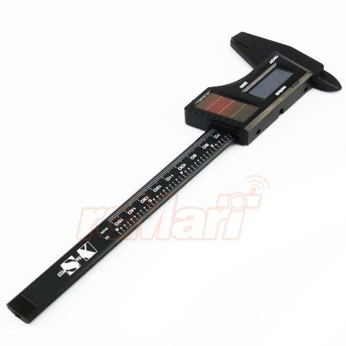 Solar Caliper - Xtra Speed Solar Digital Caliper Carbon Fiber #XS-35393