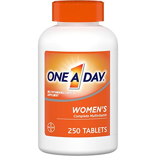 One A Day Women's Multivitamin, Supplement with Vitamins A, C, E, B1, B2, B6, B12, Biotin, Calcium and Vitamin D, 250 Count