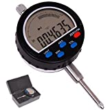 """Anytime Tools 0-1"""" Travel DIGITAL ELECTRONIC INDICATOR DIAL GAUGE GAGE INCH/METRIC Simulated Dial Programmable w/ Absolute and Tolerance"""