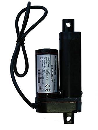 2 inch 2 stroke linear actuator 12 volt 12v 225 pounds lbs 2 inch 2 quot stroke linear actuator 12 volt 12v 225 pounds lbs maximum lift