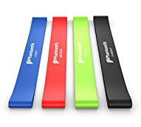 Phantom Fit Resistance Loop Bands - Set of 4 - Best Fitness Exercise Bands for Working Out or Physical Therapy by Phantom Fit