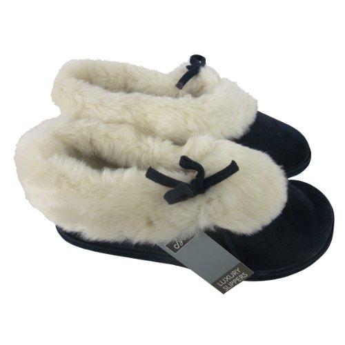 Damen Stiefeletten Knöchel Stiefel Wildlederimitat SlipperSchuhe Größe 36-41 - 39, Beige