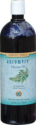 Auromere Ayurvedic Massage Oil -- 32 fl oz - 3PC