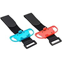 TOOGOO 1 Pair Adjustable Elastic Dance Wrist Band Strap Wristband For Nintend Switch Just Dance Joy-Con Controller