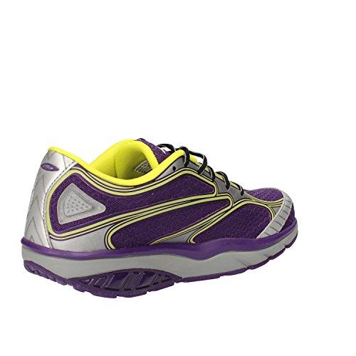 MBT Damen Afiya Lace W Niedrige Sneaker, Argento/Viola Violett