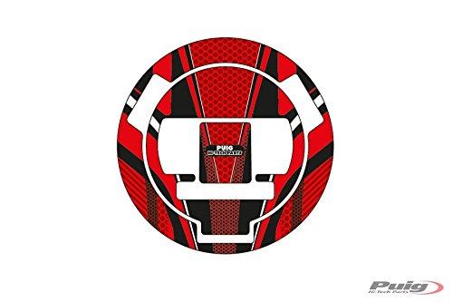 Puig 6300R Red Radical Fuel Cap Cover