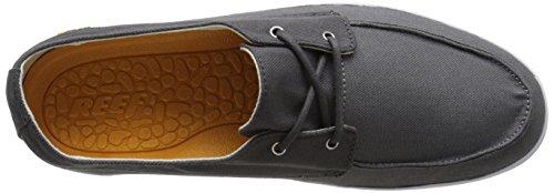 Reef Deckhand Low, Zapatillas Para Hombre Gris (Charcoal / Grey)