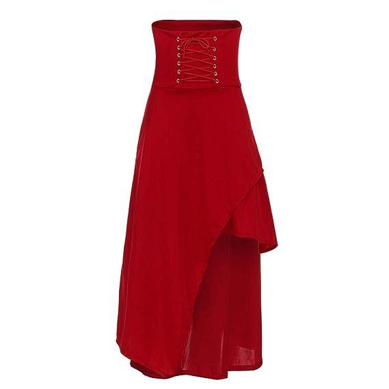 FELZ Falda de Mujer Falda Larga Mujer Falda de Mujer Falda Vendaje ...