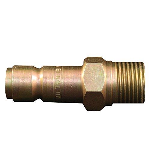 Milton S-1817 1/2 MNPT G Style Plug