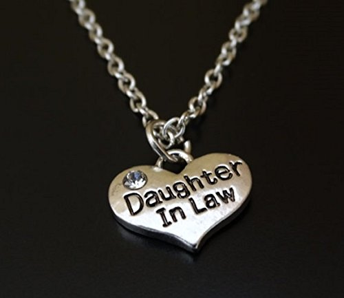 Daughter In Law Necklace Charm Pendant Jewelry Gift Birthday